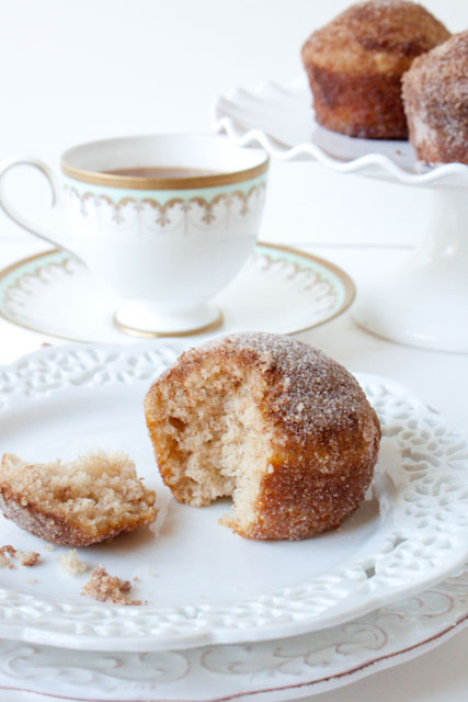 cinnamon sugar crusted coffee cake muffins