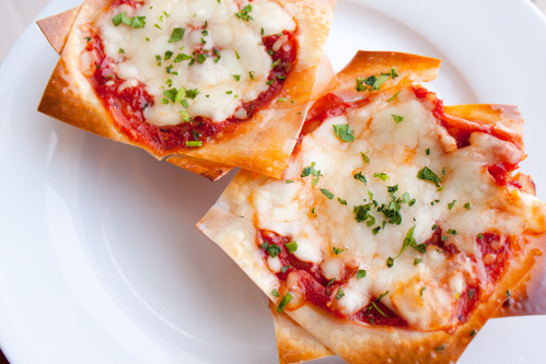 Petite Lasagnas Recipe that are so cute and perfectly portioned! Only 181 calories each!