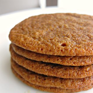 The Chewiest Ever Molasses Cookies Recipe!