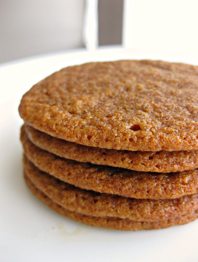 The Chewiest Molasses Cookies