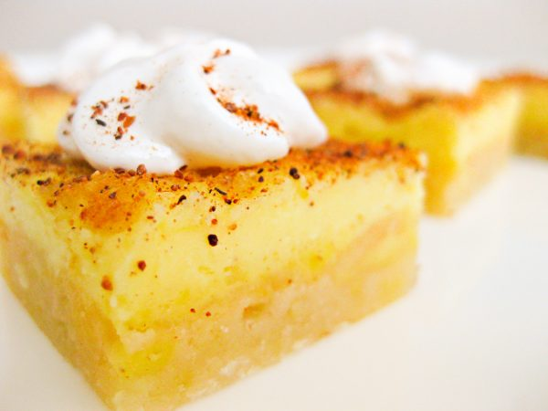 eggnog bars recipe
