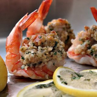 healthy baked stuffed shrimp