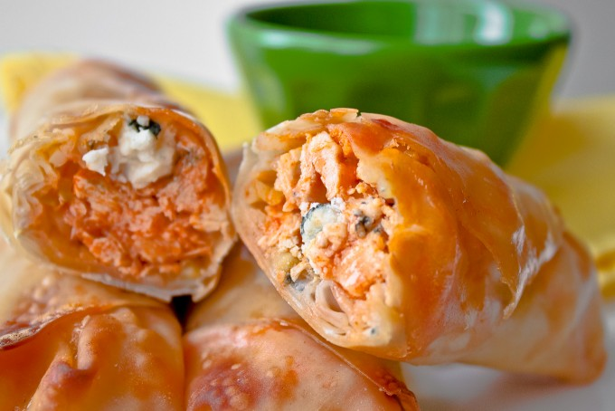 Baked Buffalo Chicken Rolls Recipe Here S The Easy Step By Step Guide Showing You How