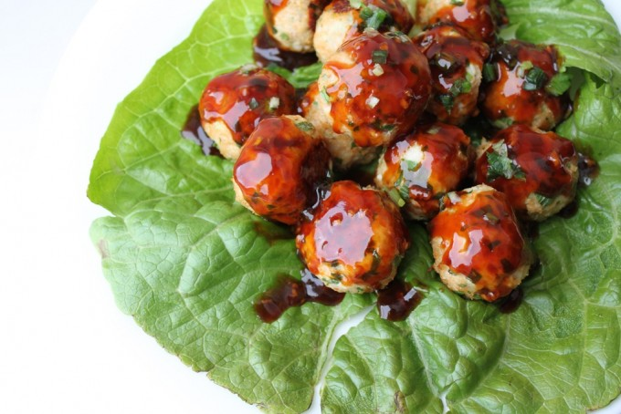 Thai Basil Turkey Meatballs - a more flavorful and fun turkey meatball recipe!