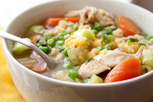Chicken broth health