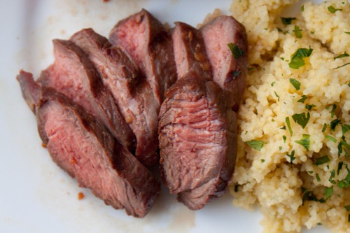 steak couscous 180