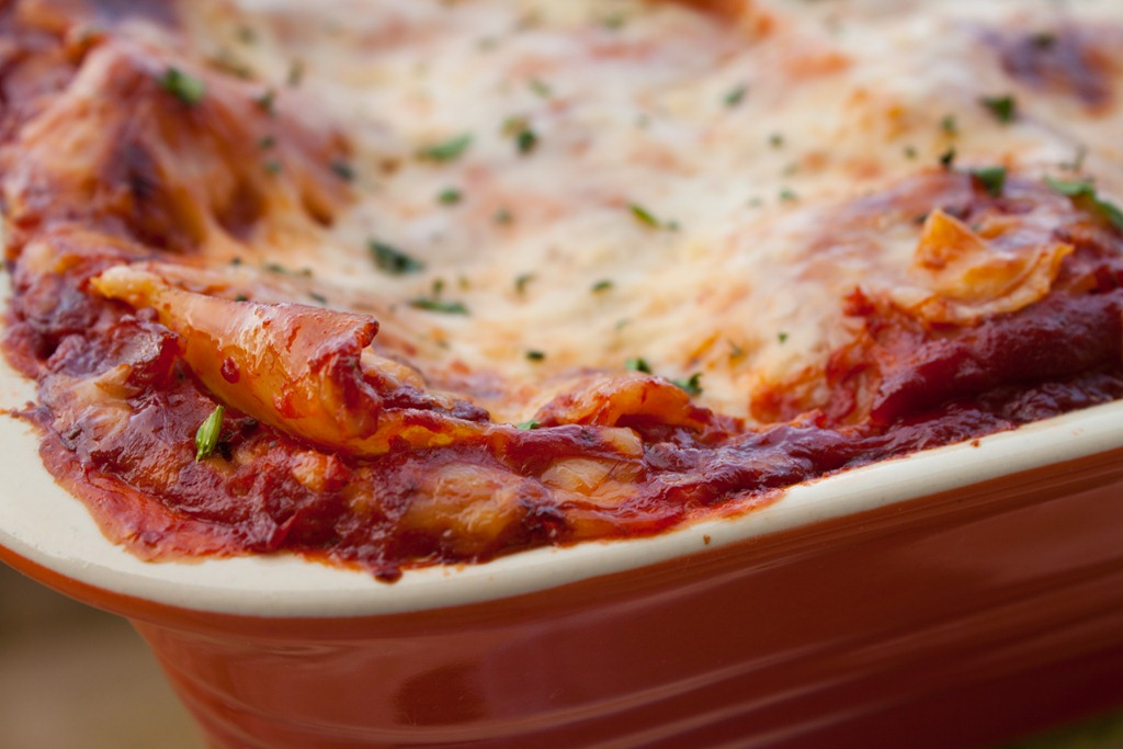 Gooey Three Cheese Lasagna | Can You Stay For Dinner?