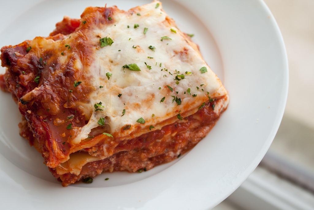 Three-Cheese Lasagna Recipe — Dishmaps
