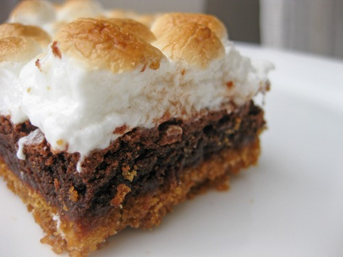 july 4th smores brownies