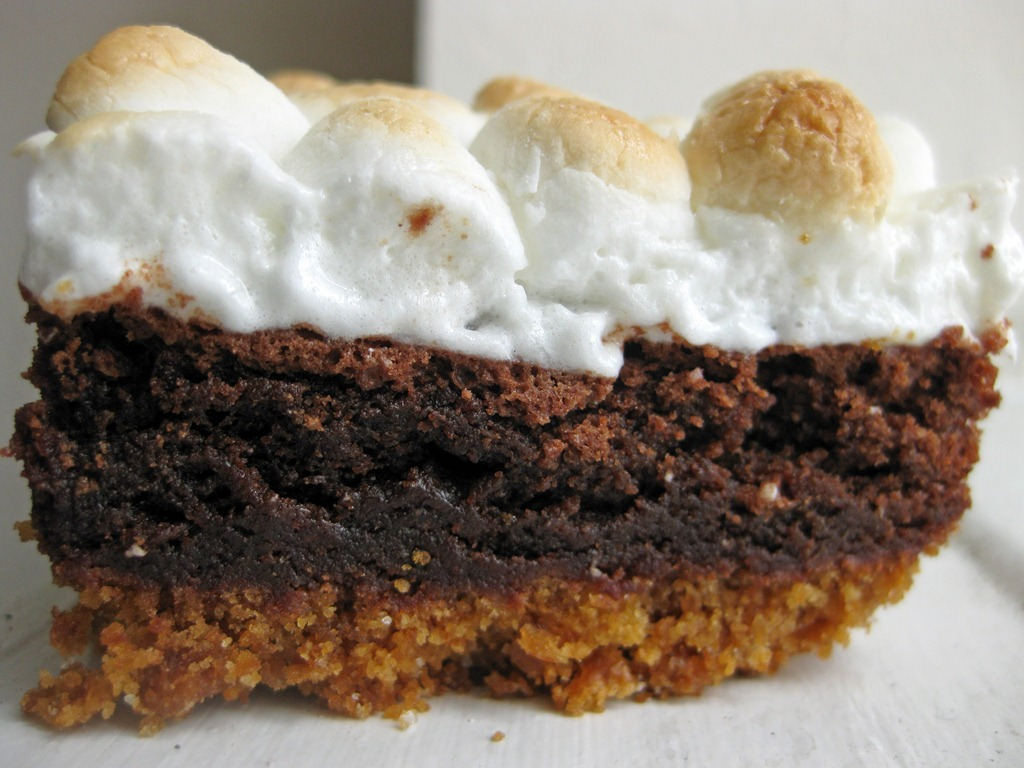 S'Mores Brownies - Andie Mitchell