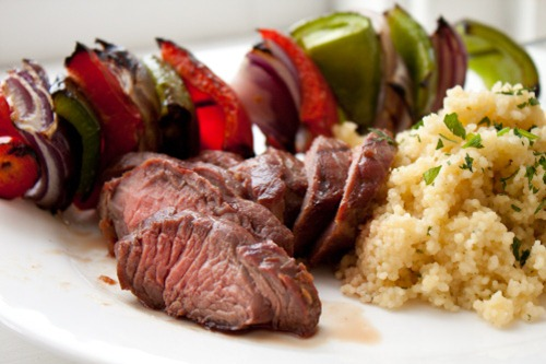 steak couscous 160