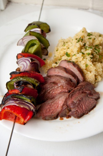 steak couscous 165
