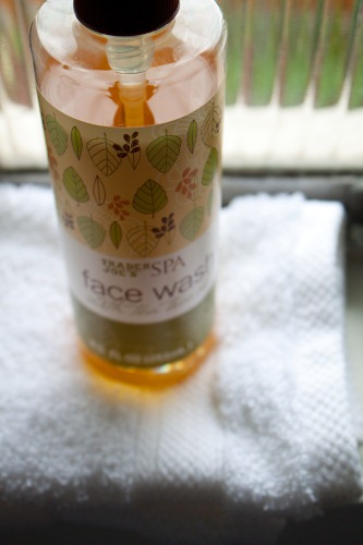 trader joes tea tree face wash