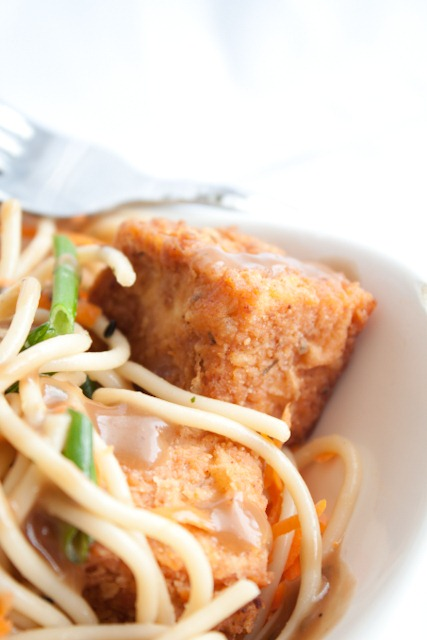 Crispy Battered and Fried Tofu - Andie Mitchell
