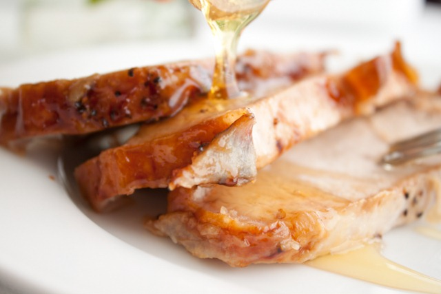 Honey Dijon Pork Loin with Apricot