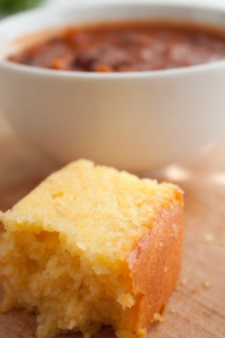 Tried and True Tender Cornbread
