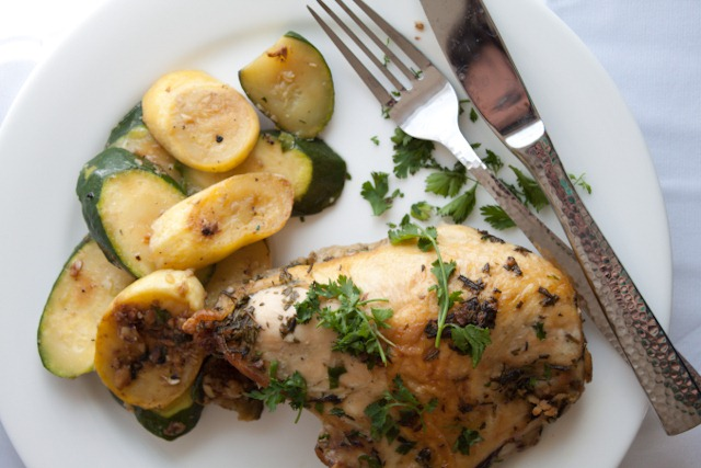 Butter Roasted Chicken with Rosemary and Sage | Can You Stay For ...