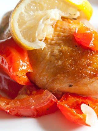 Lemon Sugar Roasted Chicken