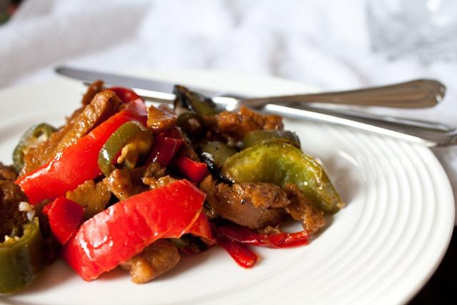 Lighter Spicy Mongolian Beef