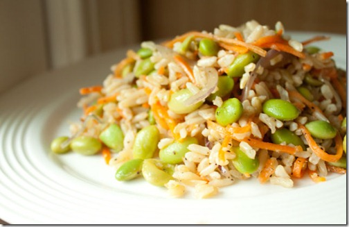 Fried Sesame Brown Rice