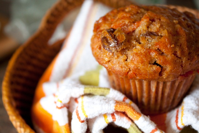 Healthier Morning Glory Muffins | Can You Stay For Dinner?