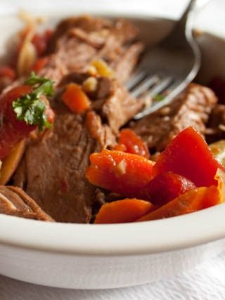 Slow Cooker New England Pot Roast