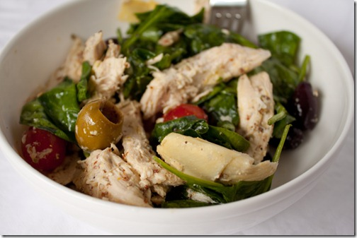 chicken artichoke salad-2