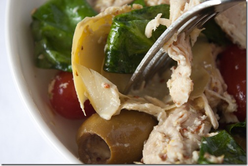 chicken artichoke salad-6