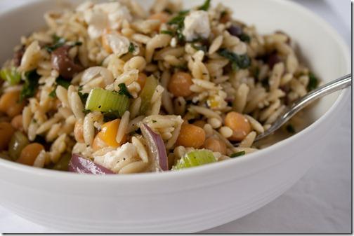 orzo chickpea feta salad-1