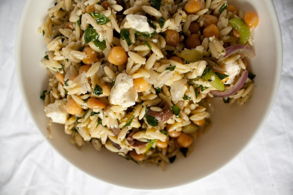 Orzo + Broccoli Pesto Salad Recipe — Dishmaps