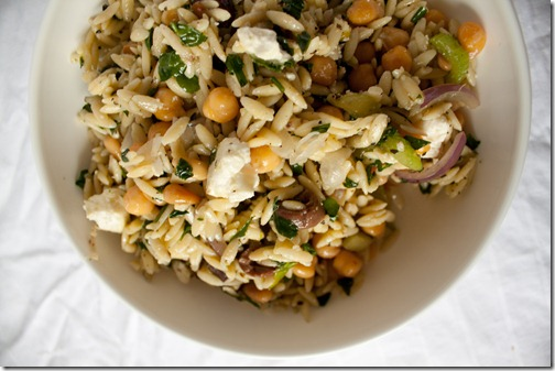 salad spinach and orzo salad summer orzo salad stalking celery orzo ...