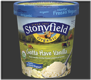 stonyfield froyo