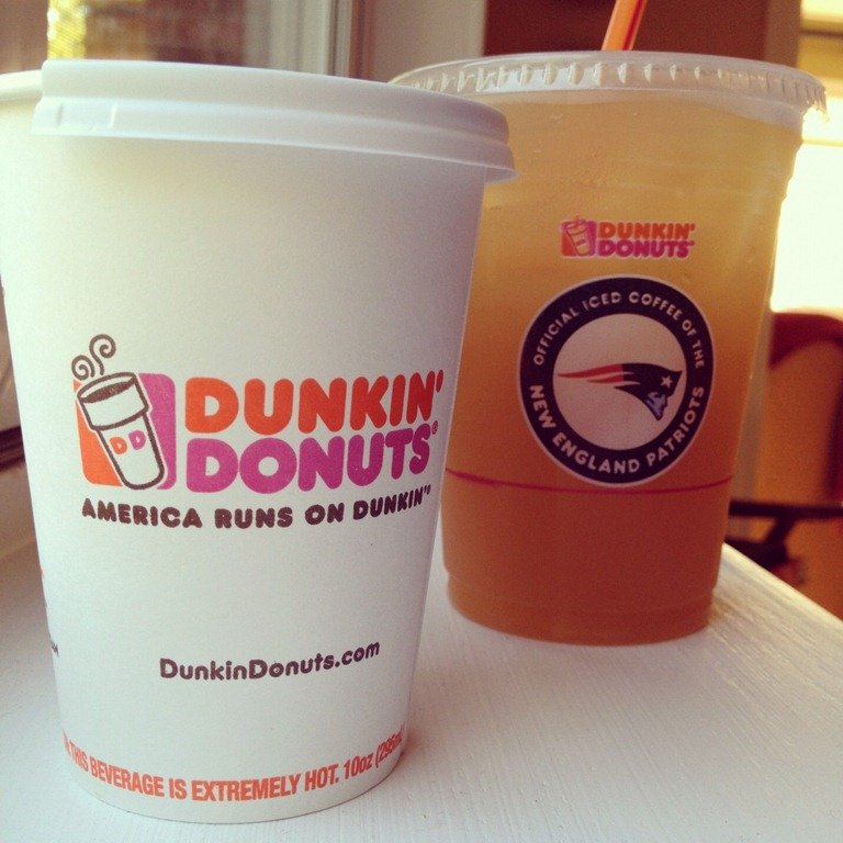 Review Dunkin Donuts New Apple Cider And Apple Orchard