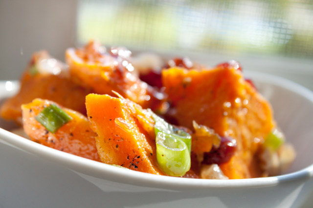 autumn butternut squash salad