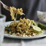 Low Carb Pad Thai Recipe with Cabbage Noodles!