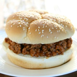 Beef and Lentil Sloppy Joes Recipe! A way to incorporate more lentils into your diet, without really tasting them or noticing - these sloppy joes are delicious and so kid friendly!