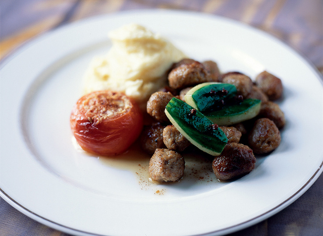 Lamb Meatballs with Parsley and Apricot