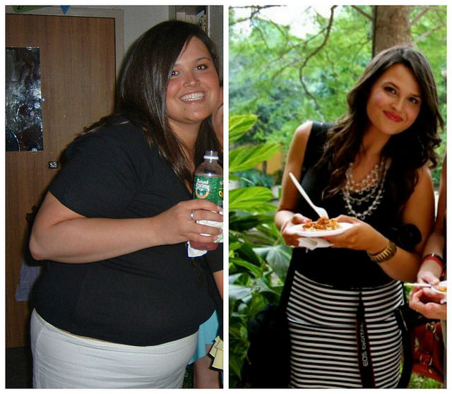andie mitchell before and after