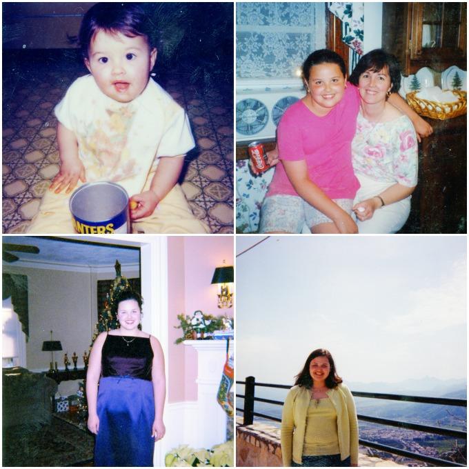 Andie Mitchell childhood photos