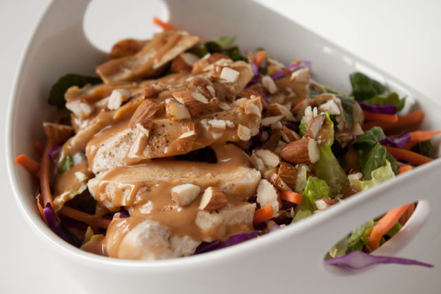 Asian Almond Butter Dressing - Andie Mitchell