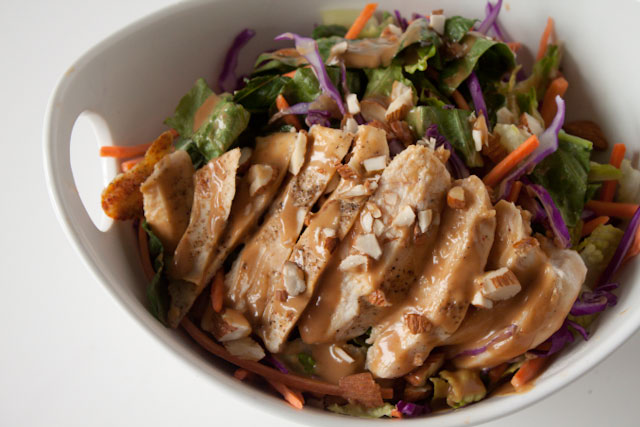 asian almond butter dressing