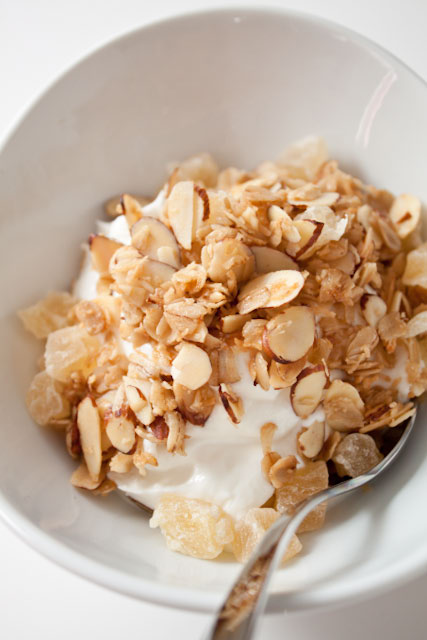 Toasted Coconut and Pineapple Granola