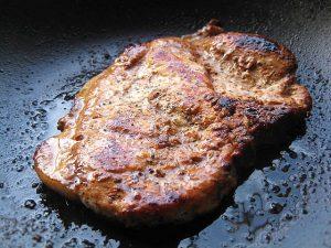pan seared pork