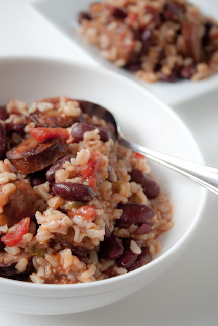 Quick Red Beans and Rice with Andouille Sausage | Can You ...