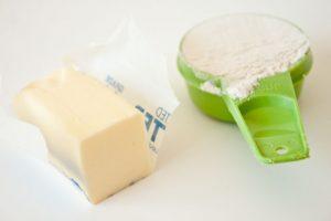 butter flour