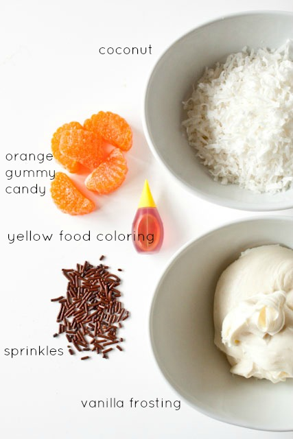 chick cupcakes ingredients