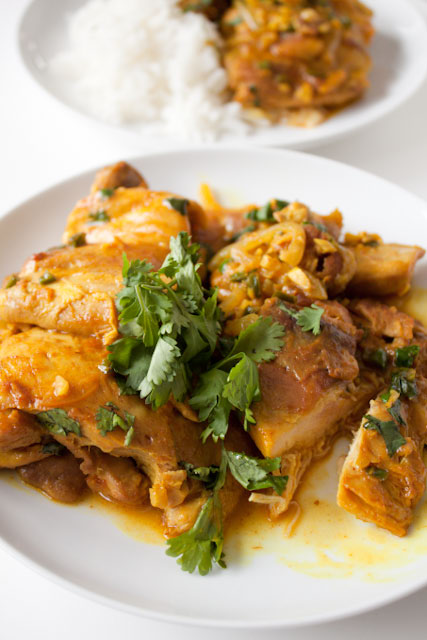 Healthy Coconut Curry Chicken