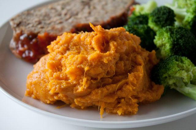 Mashed sweet potatoes make thee perfect side dish. And these ones? The ...