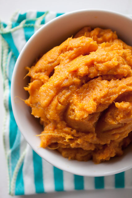 Perfect Mashed Sweet Potatoes - Can You Stay For Dinner?