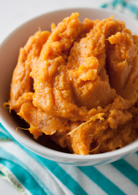 Perfect Mashed Sweet Potatoes